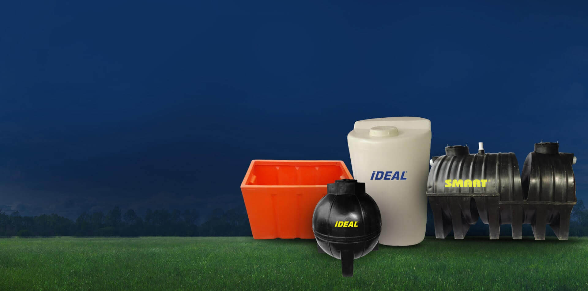 Products - Crates, Dosing Tanks, Septic  Tanks, Sump Tanks